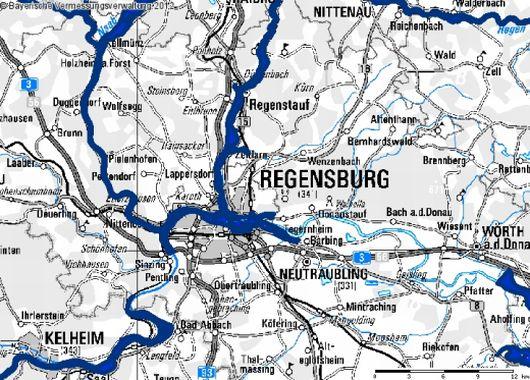 berschwemmungsgebiete wasserwirtschaftsamt regensburg. Black Bedroom Furniture Sets. Home Design Ideas